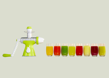 China ABS Main Body Fruit Juice Making Machine , Slow Juice Extractor Easy Gathering supplier