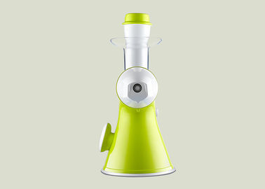 China Miniature Lemon Manual Juice Maker Green Colour Low Noise Operation FDA Certificated supplier