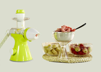 China No Blade Hand Ice Cream Maker Low Speed Technology Keeps More Nutritions supplier
