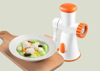 China Durable Non Electric Food Processor 3 PCS Of Knife Net High Efficiency supplier