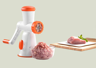 China Hygienic Materials Manual Meat Mincer Light Weight 270*132*291mm Dimension supplier