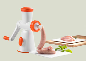China Miniature Size Manual Meat Mincer Stainless Steel Blade Easy Detachment supplier