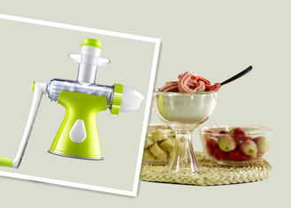 China DIY Manual Portable Ice Blender No Oxidation Greatly Healthy For Children supplier