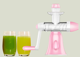 China Portable Celery Manual Vegetable Juice Maker Low Noise Operation FLGB Certificated supplier