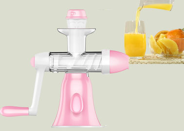 China Convenient Orange Slow Press Juicer Suction Rubber Base Feet Light Weight supplier