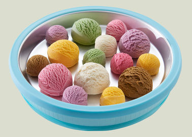 China Easy Operate Hand Instant Ice Cream Roll Tray Superior Refrigeration Performance supplier