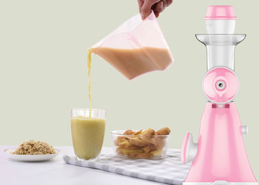 China Portable Vegetable Cold Press Slow Juicer Precise Design For Seperating Juice And Rest supplier