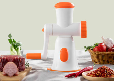 China Eco Friendly Non Electric Food Processor / Fully Integrated Kitchen Meat Mincer supplier