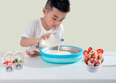 China Non Electric Instant Ice Cream Tray To Created Delicious Ice Cream In Minutes supplier