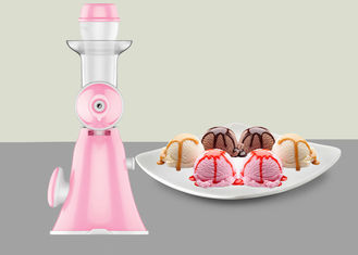 China Mini Hand Ice Cream Maker No Electricity Hand Operated Portable Fruit Juicer supplier