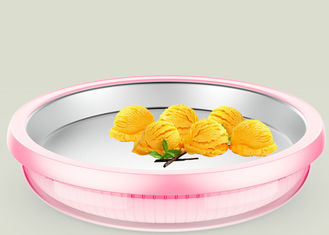 China Food Grade Instant Ice Cream Roll Tray Power Free Fried Ice Cream Maker supplier