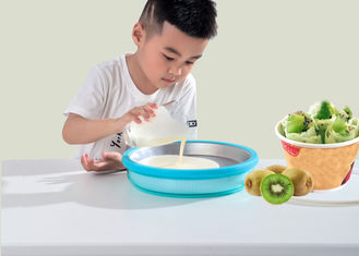 China Miracle Exclusives Non Electricity Ice Cream Freezer Tray 23cm Diameter supplier