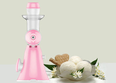 China No Noisy Manual Fruit Ice Cream Maker / Full Nutrition Non Electric Juice Maker supplier
