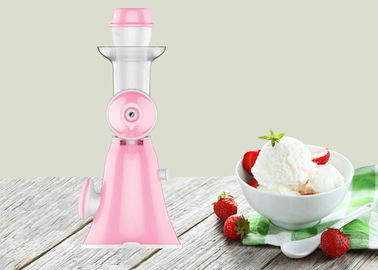 China Lightweight Hand Ice Cream Maker Household Pure Juice Extractor Easy Operate Type supplier