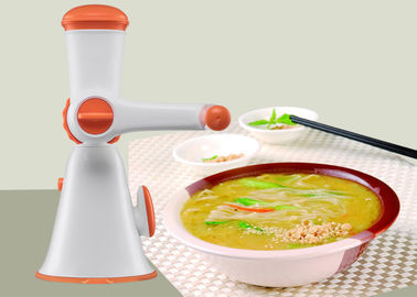 China Compact Structure Manual Meat Mincer Fully Integrated Hand Operated Food Processor supplier