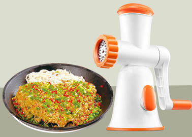 China Home Made Manual Meat Mincer With A Sausage Funnel 270*132*291mm Dimension supplier