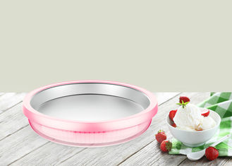 China Home Use Instant Ice Cream Tray Manual Ice Cream Roll Making Pan Non Toxic Aluminum supplier