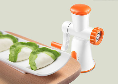 China Eco Friendly Manual Food Processor , Chopper Kitchen Appliance Simply Operation factory
