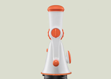 Efficient Manual Vegetable Chopper , Handheld Meat Grinder Big Suction Cup Base