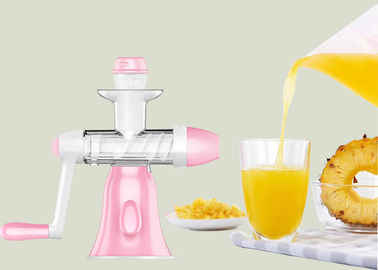 Low Speed Slow Juice Maker Manual Orange Ginger / Apple / Mulberry Juicer