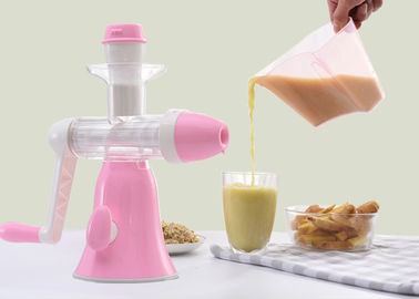 High Durability Cold Press Masticating Juicer All Parts Easily Detachable Manual Design
