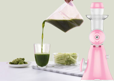 China Two Functions Vegetable Juice Maker Low Speed Technology Whole Unit Washable factory
