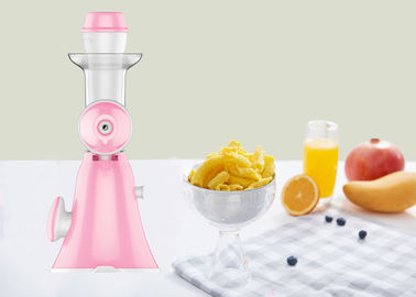 Miracle Exclusives Manual Fruit Ice Cream Maker / Full Nutrition Non Electric Juice Maker