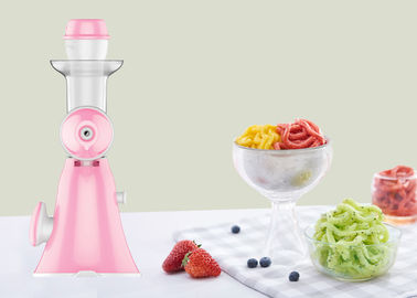 Handmade Flavored Fruit Hand Crank Ice Cream Maker Non Electric Juice Machine
