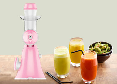 China Slow Screw Cold Press Manual Juice Maker Compact Designed Manual Vegetable Extractor factory