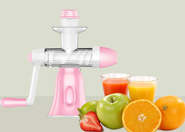 China Portable Low Speed Manual Fruit Juice Extractor Pure Fruit Ice Cream Making Machine factory