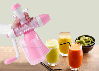 China Home Style Slow Cold Press Fruit And Vegetables Juice Maker Mini Manual Juice Machine factory