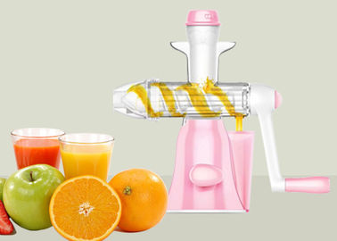 China Plastic Smart Size Manual Juice Extractor High Performance Continues Juicer factory