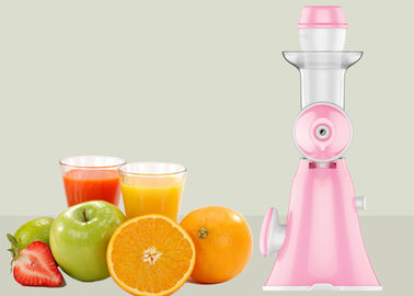 China Cold Press Manual Juice Maker For Fruit And Vegetable , Slow Juice Maker factory