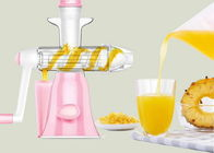 Household Manual Juice Maker Washable Hand Operate No Noise Easy Installation